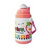 PUKU Botol Minum Thermal 375cc [P14600-P] -  Pink - Perlengkapan Makan dan Minum Bayi